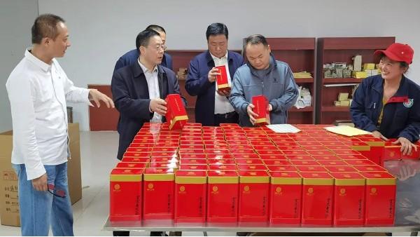 """孟祥新率调研组调研""""发展茶产业,助力脱贫攻坚与乡村振兴"""""""